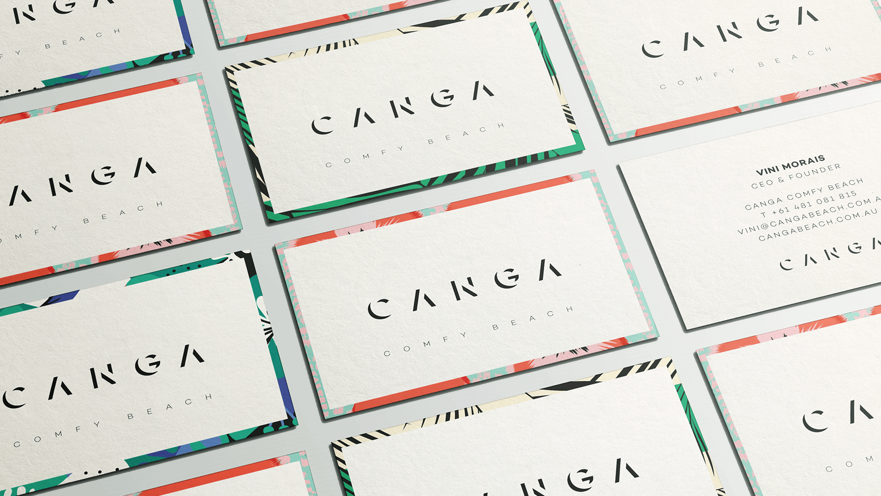 CANGA Branding and Pattern